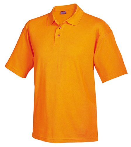 Worker Polo/James & Nicholson (JN 025) S M L XL XXL Orange