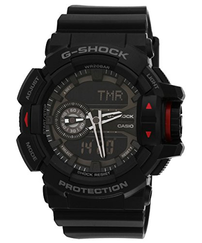 41n59gV7MAL - G Shock Digital Mens GA 400 1BDR G566 watch