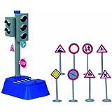 Dickie 20 331 3051  - Sistema de semáforos, señales de tráfico y señales de 8