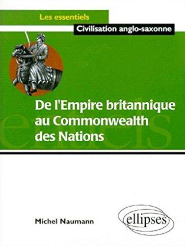 De l'Empire britannique au Commonwealth des nations