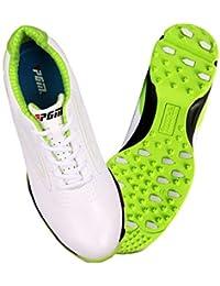 FUBULE Zapatillas de Golf Zapatillas sin Cordones Antideslizantes Antideslizantes Aliento Resistencia al Desgaste Al Aire Libre multifunción