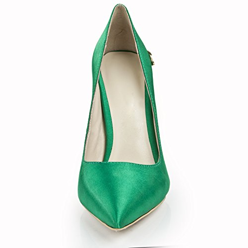 Minitoo , Sandales Compensées femme Vert - vert