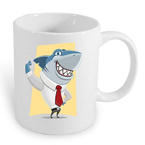 Hai Große Kostüm Weiße - Tasse 330ml
