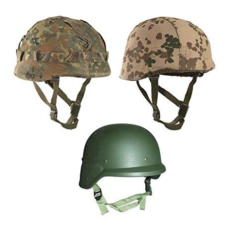 BW Gefechtshelm M88 + Helmbezug Airsoft Kostüm etc.+ AOS-Outdoor® Flaschenöffner