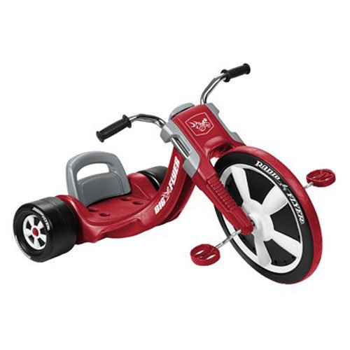 Radio Flyer - Tricicleta, Color Rojo (474A)