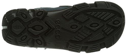 Ecco Ecco Snowboarde, Boots garçon Bleu (Black/Pavement/Pavement 58824)