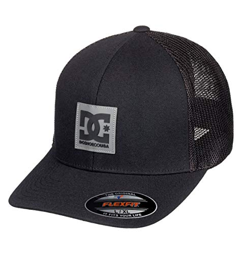 DC Apparel Herren Mesher Cap, Black, One Size