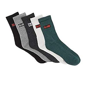 Globe Hilite Crew Sock 5 Pack Socks
