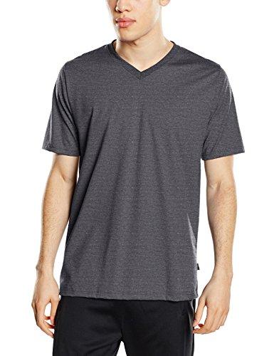 Trigema Herren T-Shirt 637203 Grau (grau-melange 109)