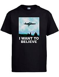 Camiseta Star Trek I Want To Believe Enterprise