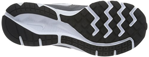 Nike - Downshifter 6, Scarpe Sportive Outdoor Uomo Grigio (Cl Gry/Mtlc Pltnm-Tm Orng-Whit)