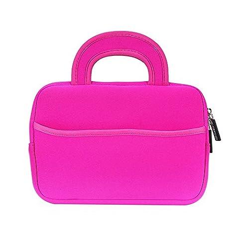 MoKo Universal 7-8 Zoll Tablet Tasche - Neoprene Handtasche Tragetasche Wallet Bag für All-New Fire HD 8 2016, Fire Kids Edition 7