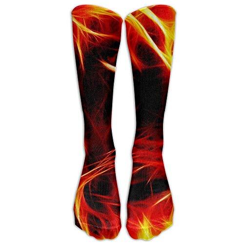 Hohe Socken Men&Women 3D Lion King Rastafarian Designs Crew Novelty Socks Warm Over Boots Stocking Trendy Long Outdoor Socks
