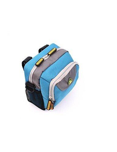 ZQ Fahrradlenkertasche Camping & Wandern / Legere Sport / Radsport Für Alles Handy ( Wasserdicht / tragbar , Rot / Schwarz / Blau , Nylon ) Blue