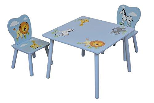 Liberty house toys set di tavolino e sedie per bambini motivo