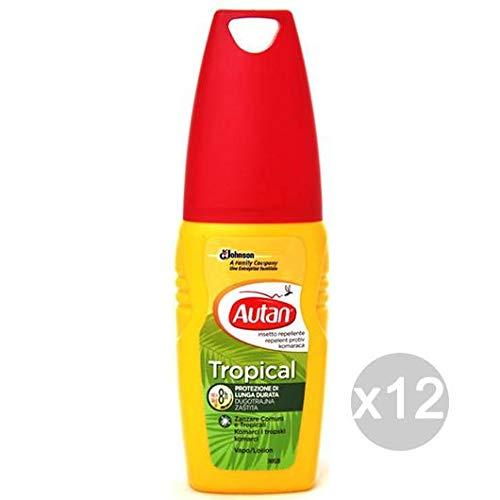 AUTAN Set 12 Tropical Spray 100ml est. Tratamiento insec ticide
