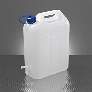41n5H4deo7L. SS300  - 10 Litre Food Grade Plastic Water Container With Pouring Tap