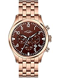 amazon co uk rotary watches outlet watches rotary aquaspeed gb00109 16 b men s rose gold stainless steel