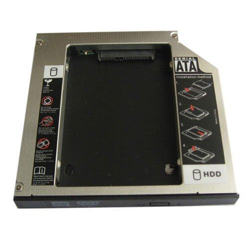 Generic Disque dur 2nd HDD SSD Caddy pour HP Pavilion DV6–2144NR dv7–6135dx dv6–3040ST dv6–3132EL dv6–6145x dv6–6b56er