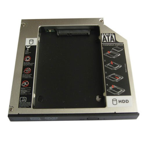 ds 8a5sh Generic 12,7mm 2nd HDD SSD Festplatte Caddy für Asus K70AC K70K51AC N45ds-8a5sh