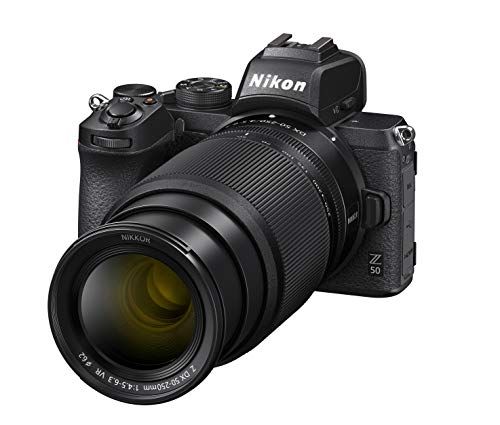 Nikon Hybride Z50 + objectif Z DX 16-50mm f/3.5-6.3 VR + Z DX 50-250 f/4.5-6.3 VR