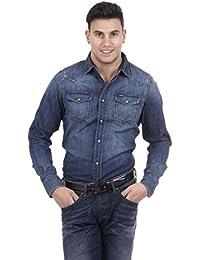 Diesel Hemd Denim New-Sonora blau
