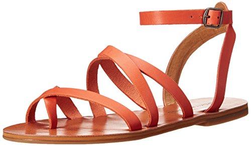 lucky-brand-aubree-mujer-us-65-naranja-sandalia-gladiador