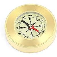 55mm Durchmesser runden Zifferblatt Tragbarer Sensitive Kompass für Wandern Camping