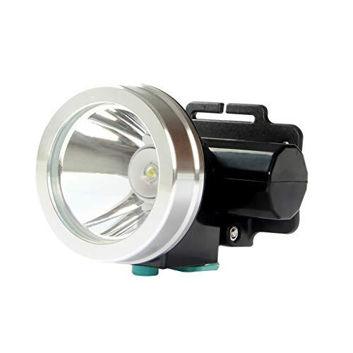 Lampe Frontale à Del, Lampe de Poche étanche Ultra-Brillante Rechargeable à l'épreuve de la lumière, Mini phares de pêche