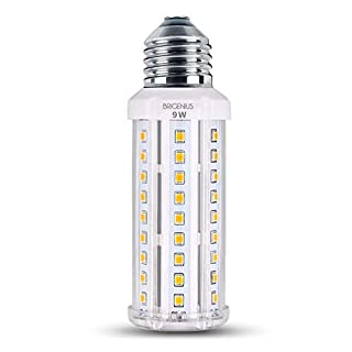 E27 LED Corncob Bulb Beleuchtung 58 x SMD 2835 LED Warmweiß Energiesparlampe 9W für Wandleuchte Tischleuchten Deckenleuchten Küche Schlafzimmer (3000K) [Energieklasse A++]