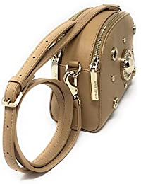 Versace - Bolso de asas para mujer Beige beige 20X7X16cm