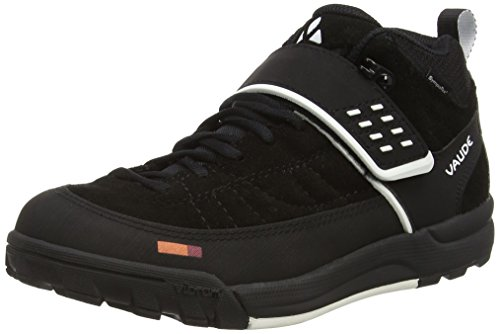 Vaude Unisex Adults\' Moab Mid STX Am Mountain Biking Shoes Black Size: 39 EU (5.5 UK)