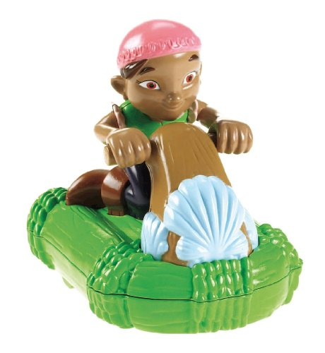 Mattel Fisher-Price X1219 - Jake und die Nimmerland-Piraten Izzys Renn-Floß (Jake Der Pirat-figuren)