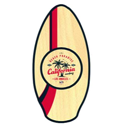 Skimboard SkimOne 41/ 105cm San Diego Aqua Orange Wake Skate Wellenbrett Strandbrett Holz
