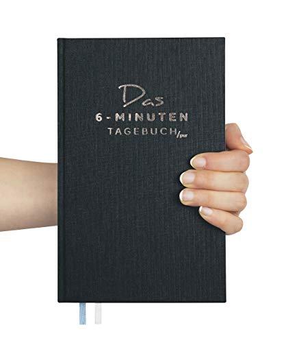 Das 6-Minuten-Tagebuch PUR (die Nachfolgeversion) | Erfolgs-Journal, Dankbarkeits-Journal | Mix aus Notizbuch und Tagebuch | Täglich 6 Minuten für mehr Erfolg, Gelassenheit und Achtsamkeit (schwarz)