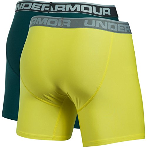 Under Armour Herren O Series 6 zoll BoxerJock 2 PK Arden Green