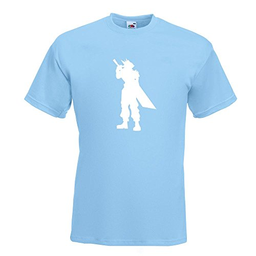 KIWISTAR - RPG Hero T-Shirt in 15 verschiedenen Farben - Herren Funshirt bedruckt Design Sprüche Spruch Motive Oberteil Baumwolle Print Größe S M L XL XXL Himmelblau