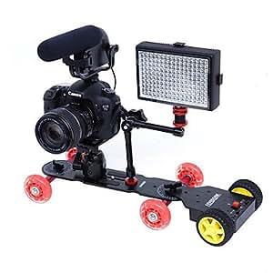 SEVENOAK Dolly pour appareil photo reflex numérique à un tracteur motorisé chariot de caméra Skate