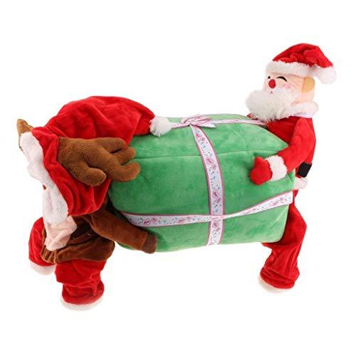 Yundxi Weihnachtsmannkostüm Hundekostüm Cosplay Kostüme Plüschkleidung Allerheiligen Weihnachten Pullover Pulli Weste Hoodie Wintermantel