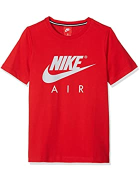 Nike B NK AIR SS C and S Camiseta de Manga Corta, Niños, Rojo/(University Red/Wolf Grey), L