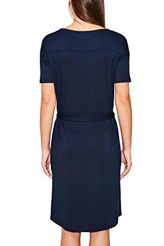 ESPRIT Damen Kleid Blau (Navy 2 401)