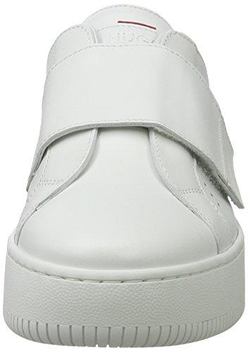 Hugo Mariel 10201909 01, Scarpe da Ginnastica Basse Donna Bianco (White)