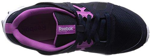 Reebok  RealFlex Train RS 2.0, Chaussures de fitness pour femme Noir (Faux Indigo/Ultra Berry/Silver Met/White)