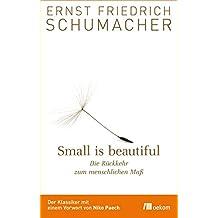 Small is beautiful : Die Rückkehr zum menschlichen Maß