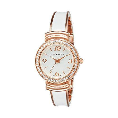 Giordano Analog White Dial Women's Watch-C2081-22