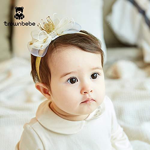 Kinderhaarschmuck Princess Baby Hair Belt Baby Crown Kopfschmuck für 0-12 Monate, ()