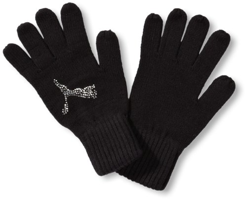 Puma Paire de gants Karen pour femme noir