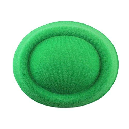 vap26 DIY Haar-Zubehör Pillbox Hut Fascinator Hut kleine Kapuze unten Fuß Mädchen Spielzeug (rot), grün, Free Size