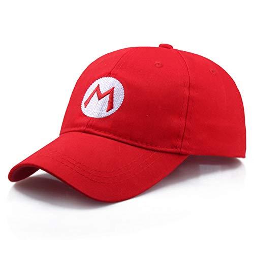 DAMENGXIANG Baseball Caps für Frauen Männer verstellbare Schnalle Hut Rot M GRÜN L Cosplay Kostüm Cap Dropshipping