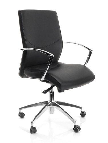 Buerostuhl24 600650 Bürostuhl / Chefsessel Barbera 10 PU, schwarz